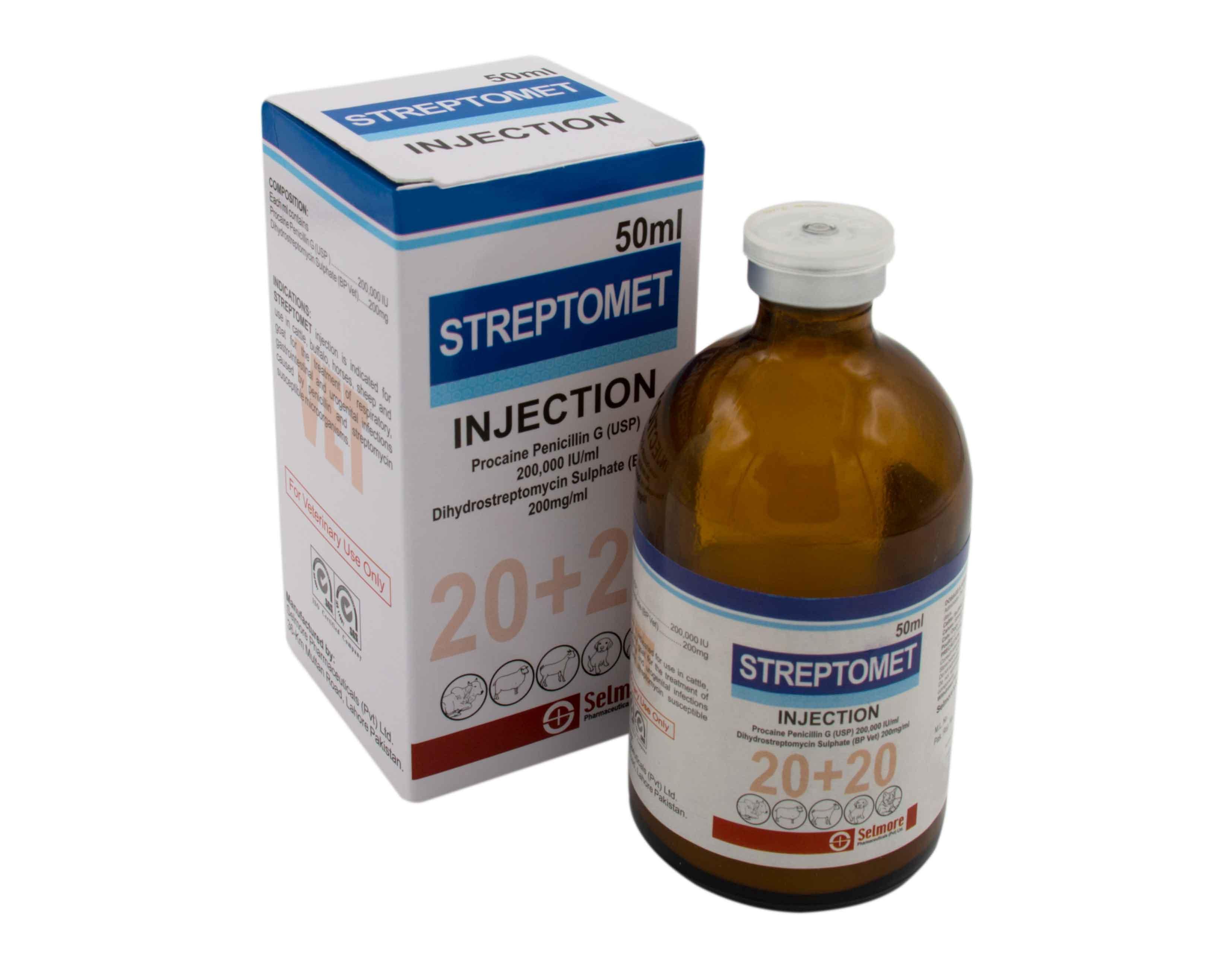 Streptomet Injection